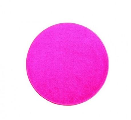 Eton - koberec, 80x80cm (100%PP, kulatý, růžová)