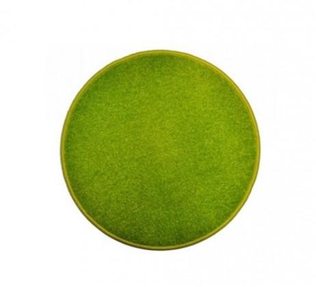 Eton - koberec, 80x80cm (100%PP, kulatý, zelená)