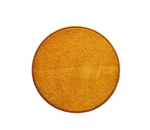 Eton - koberec, 80x80cm (100%PP, kulatý, žlutá)