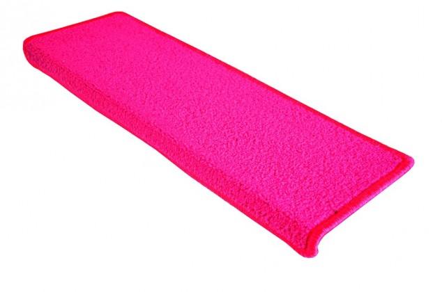 Eton - Schodový nášlap, 24x65 cm (růžový obdélník)