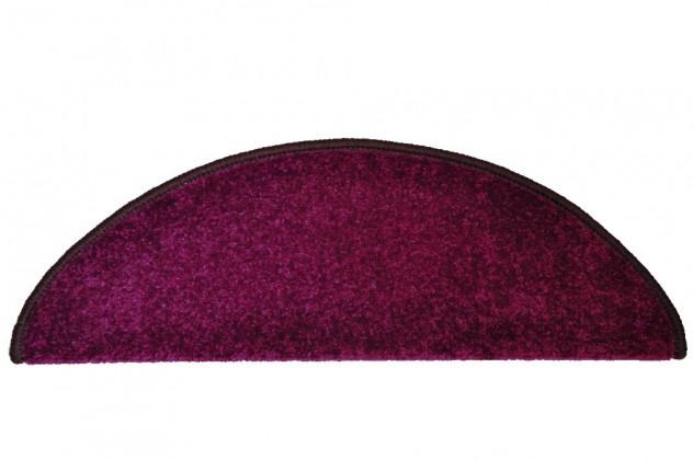 Eton - Schodový nášlap, 24x65 cm (tmavěfialový oblouk)