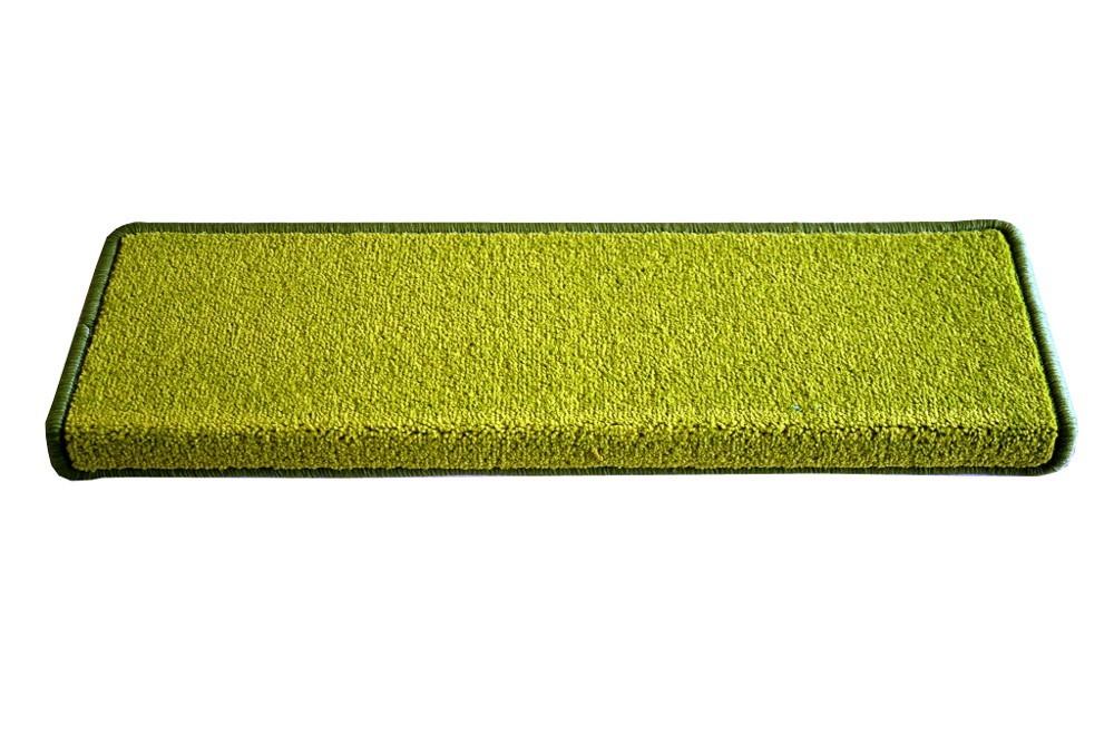 Eton - Schodový nášlap, 24x65 cm (zelený obdélník)