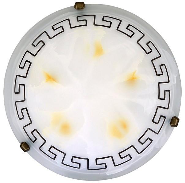 Etrusco - Nástěnná svítidla, E27 (řecké vzory/bronzová )