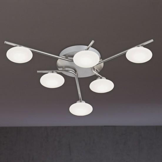 Everett - Stropní osvětlení, LED (matný nikl)