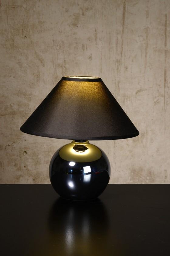 Faro - lampička, 40W, E14 (černá)