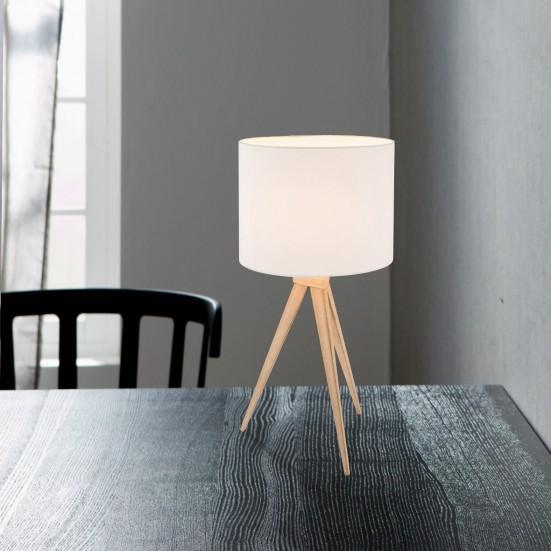 Filiz - Lampička, E27 (dub světlý)