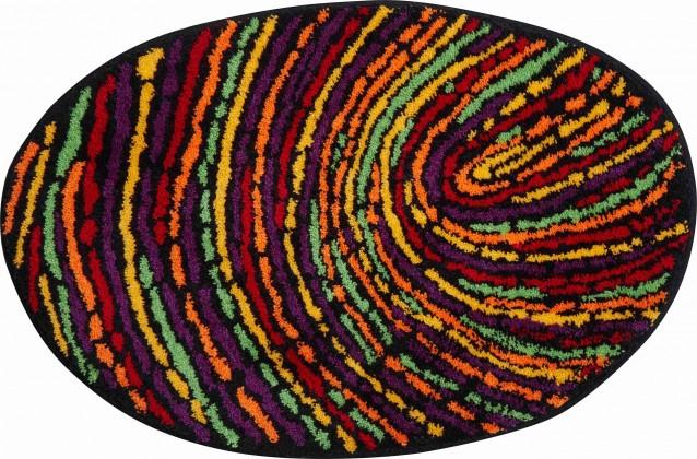 Fingerprint - Koupelnová předložka 60x90 cm (barvitá)