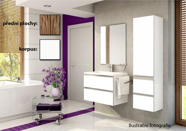 Firenze - Koupelnová sestava (olivo,boky bílé)