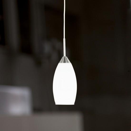 Flame - Stropní osvětlení, E27 (nikl)
