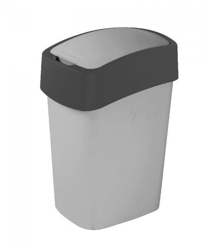 FLIPBIN, 10l (plast,šedá)