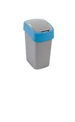 FLIPBIN, 10l (plast,šedo-modrý)