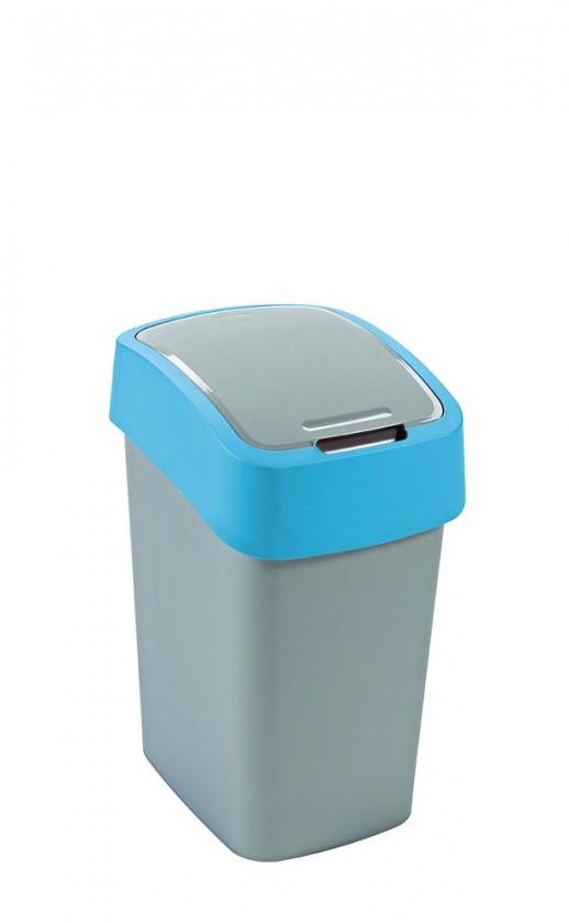 FLIPBIN, 25l (plast,šedo-modrý)
