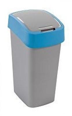 FLIPBIN, 50l (plast,šedo-modrý)