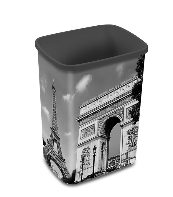 FLIPBIN PARIS, bez víka, 25l (plast,Paris)