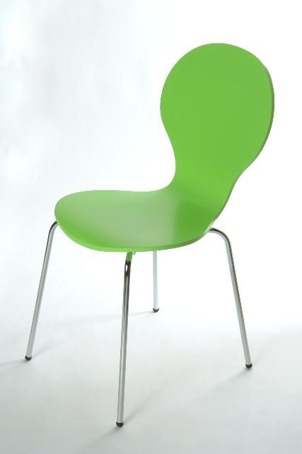 Flower - Jídelní židle (zelená)