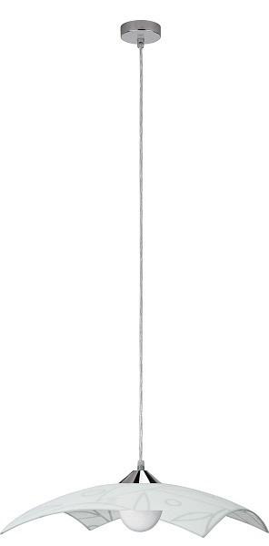 Flower - Stropní osvětlení, E27 (bílá se vzorem)