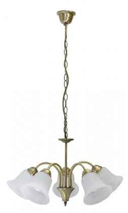 Francesca - Stropní osvětlení, 7375 (bronzová/bílá alabastrová)