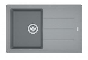 Franke - dřez Fragranit BFG 611-78, 780x500 (šedý kámen)