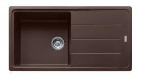 Franke - dřez Fragranit BFG 611, 970x500 (tmavě hnědá)