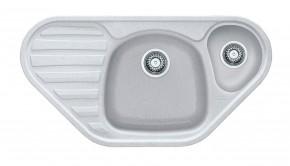 Franke - dřez Fragranit COG 651 E, 960x500 (bílá-led)