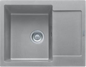Franke - dřez Fragranit MRG 611-62, 620x500 (šedý kámen)