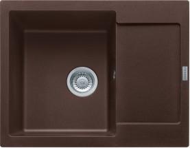 Franke - dřez Fragranit MRG 611-62, 620x500 (tmavě hnědá)