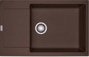Franke - dřez Fragranit MRG 611-78 BB, 780x500 (tmavě hnědá)