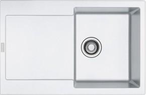 Franke - dřez Fragranit MRG 611, 780x500 (bílá-led)