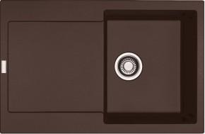 Franke - dřez Fragranit MRG 611, 780x500 (tmavě hnědá)