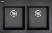 Franke - dřez Fragranit MRG 620, 800x520 mm (onyx)
