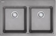 Franke - dřez Fragranit MRG 620, 800x520 mm (šedý kámen)