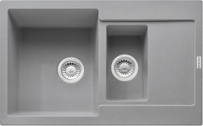 Franke - dřez Fragranit MRG 651-78, 780x500 (šedý kámen)