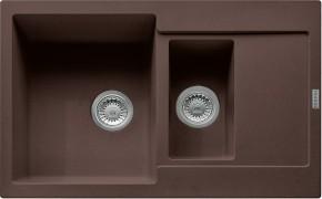 Franke - dřez Fragranit MRG 651-78, 780x500 (tmavě hnědá)