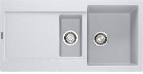 Franke - dřez Fragranit MRG 651, 970x500 (bílá-led)