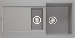 Franke - dřez Fragranit MRG 651, 970x500 (šedý kámen)