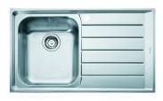 """Franke - dřez nerez NEX 611 2 3 1/2"""", 860x510 mm (stříbrná)"""