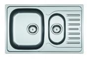 Franke - dřez nerez PXN 651-78 3 1/2, 780x490 mm (stříbrná)