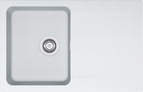 Franke - dřez Tectonite OID 611-78, 780x500 mm (bílá)