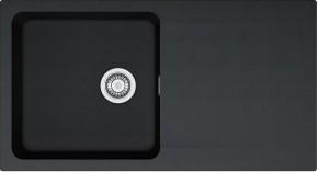 Franke - dřez Tectonite OID 611, 940x510 mm (černá)