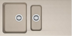 Franke - dřez Tectonite OID 651, 1000x510 mm (kávová)