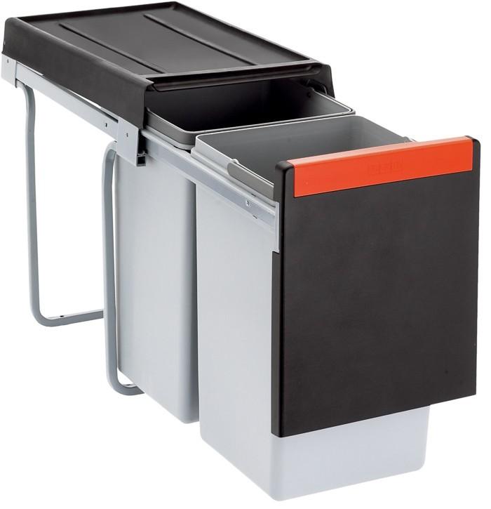 Franke - sorter cube 30 - 2x15 l (černá)