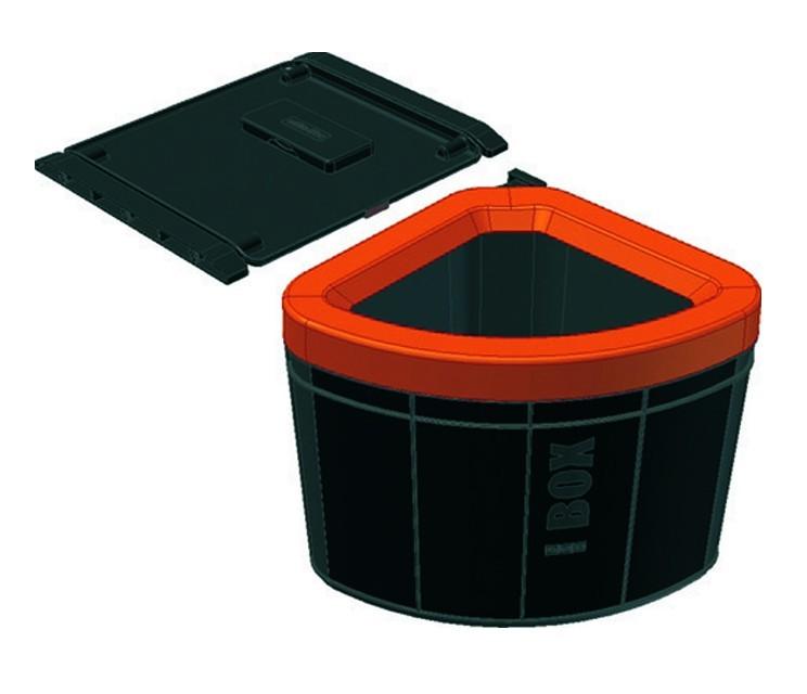 Franke - sorter solo 60 - 40 l (černá)