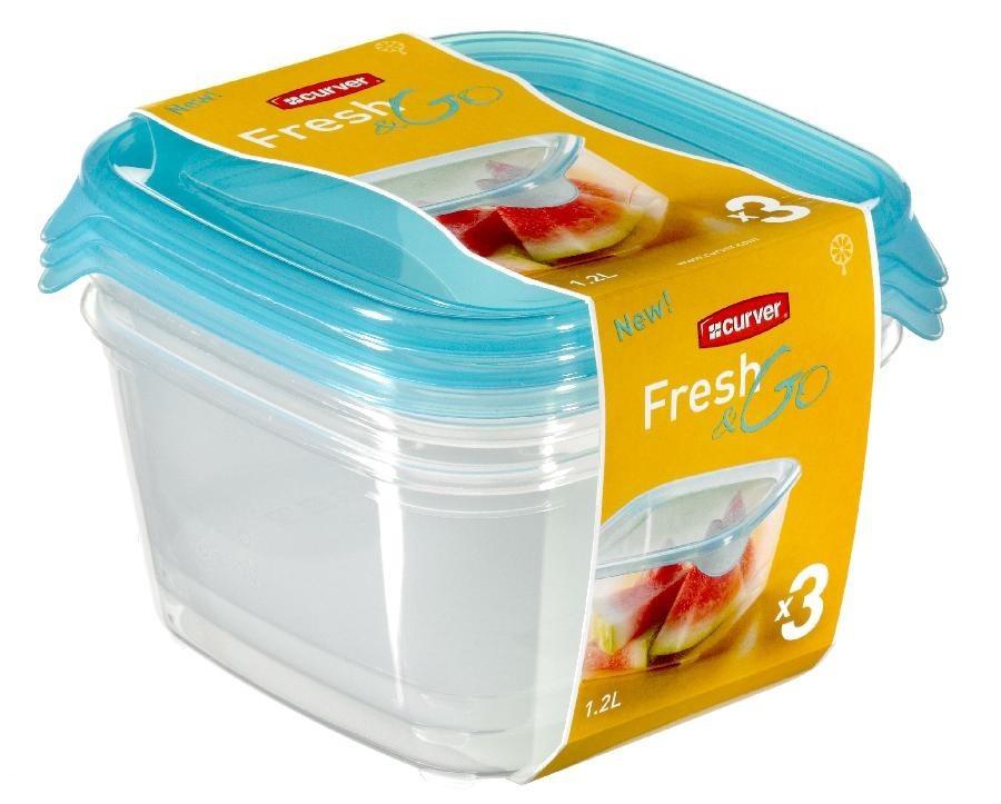 Fresh&Go 3x1,2l (plast,modrá)