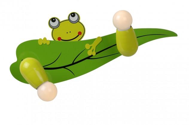 Froggy - nástěnné osvětlení, 40W, 2xE14 (zelená)