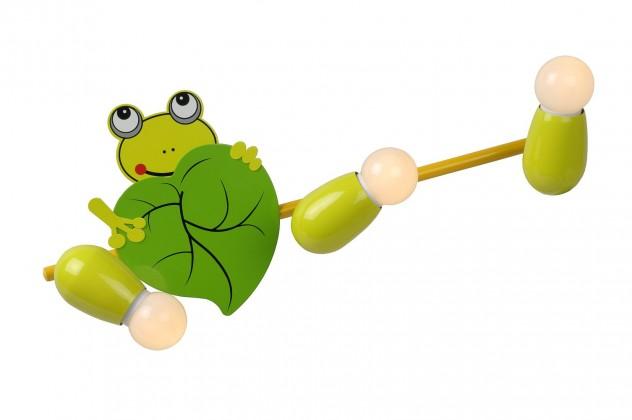 Froggy - nástěnné osvětlení, 9W, 3xE14 (zelená)