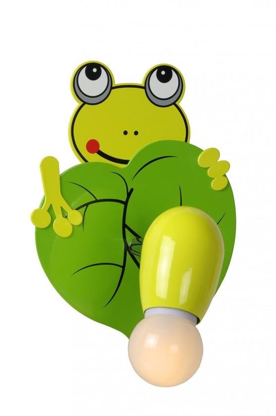 Froggy - nástěnné osvětlení, 9W, E14 (zelená)