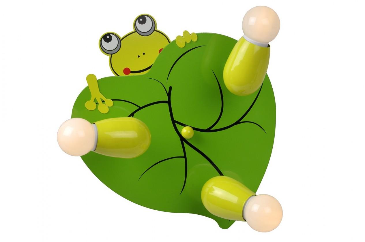 Froggy - stropní osvětlení, 9W, E14 (zelená)