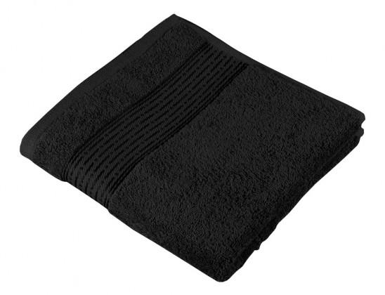 Froté osuška Kamilka, proužek, 70x140cm (černá)