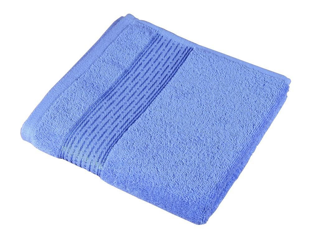 Froté osuška Kamilka, proužek, 70x140cm (modrá)