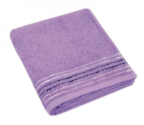 Froté ručník, fialová řada, 50x100cm (fialová)